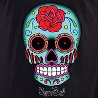 Sunny Buick Rose Sugar Skull #2 Shirt