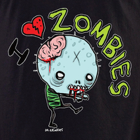 Dr Krinkles I Heart Zombies Shirt