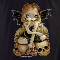 Jasmine's Candle in the Dark Fairy Shirt | Fairies and Fantasy