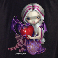 Jasmine's Valentine Dragon Fairy T-Shirt