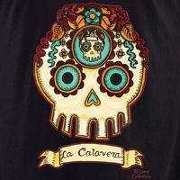 MLuera La Calavera Sugar Skull Shirt