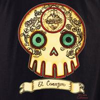 MLuera El Corzon Sugar Skull Shirt