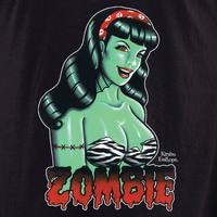 Kirsten Easthope Zombie Pinup Shirt