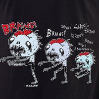 Dr Krinkles Brains, Brains, Brains Shirt