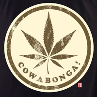 Cowabonga 2 White T shirt