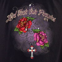 Iovino Lord Hear our Prayers White T shirt