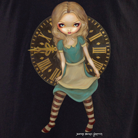 Jasmine's Clockwork Alice in Wonderland T-shirt