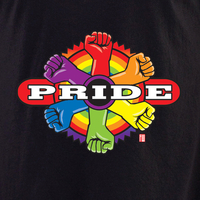 Wiedemann Pride Fist 2 shirt