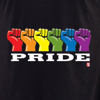 Wiedemann Pride Fist 3 shirt