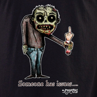 Agorables Zombie Issues shirt