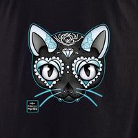 Miss Cherry Martini Blue Cat shirt
