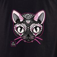 Miss Cherry Martini Pink Cat shirt