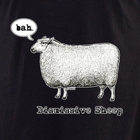 Evilkid Dismissive sheep shirt