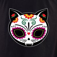 Evilkid Gato Muerto Sugar Skull Shirt