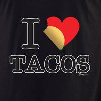 Evilkid I heart tacos shirt