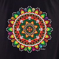 Evilkid Day of the Dead Muertos Mandala shirt