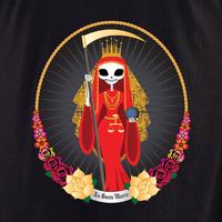 Evilkid Santa Muerte Shirt