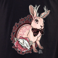 Cherry Martini bunny tattoo shirt