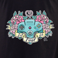 Cherry Martini girl controller shirt