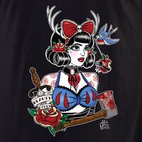 Cherry Martini snow shirt