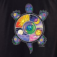 Dan Morris turtle shirt