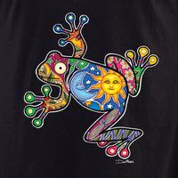 Dan Morris frog shirt