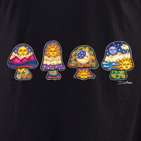Dan Morris mini mushrooms shirt