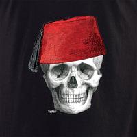 Fez Skull Face shirt
