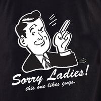 Evilkid Sorry Ladies shirt
