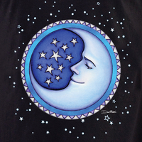 Dan Morris Starry Moon Shirt