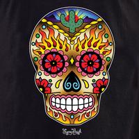 Sunny Buick Western Sugar Skull shirt
