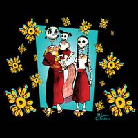 MLuera Dia de los Muertos Tshirt