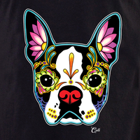 Cali Boston Terrier Black Shirt