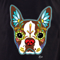 Cali Boston Terrier Red Shirt
