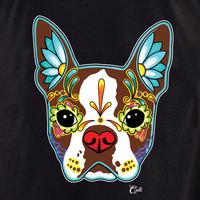 Cali Boston Terrier Red Shirt