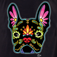 Cali French Bulldog Black Shirt
