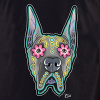 Cali Great Dane Cropped Shirt
