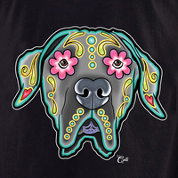 Cali Great Dane Floppy Shirt