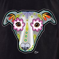 Cali Greyhound_Whippet Shirt