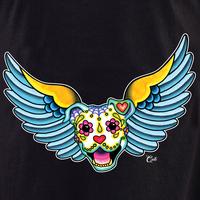 Cali Winged Pit Bull Shirt