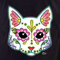 Cali Cat White Shirt