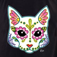 Cali Cat White Shirt