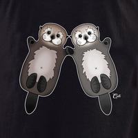 Cali Otter Couple Shirt