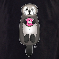 Cali Otter Donut Shirt