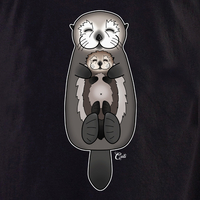Cali Otter Mom and Baby Shirt