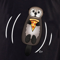 Cali Otter Pizza with Waves Shirt