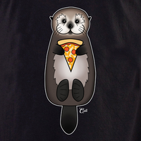 Cali Otter Pizza Shirt