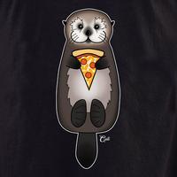 Cali Otter Pizza Shirt