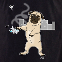 Cali Pug in the City Shirt