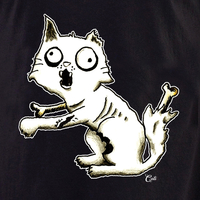 Cali Zombie Kitty Shirt